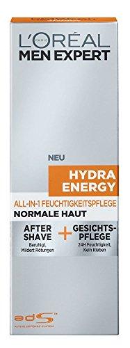 L\'Oréal Men Expert Hydra Energy All-In-One Feuchtigkeitspflege, 1er Pack (1 x 75 ml)