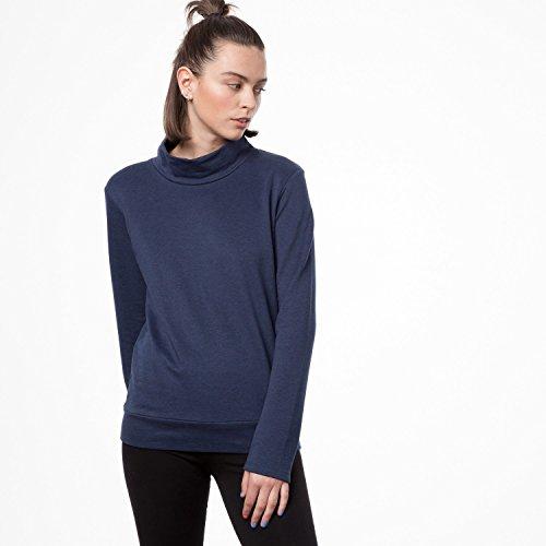 THOKKTHOKK Damen Sweatshirt Dunkelblau Bio Fair, Größe:XL - 2