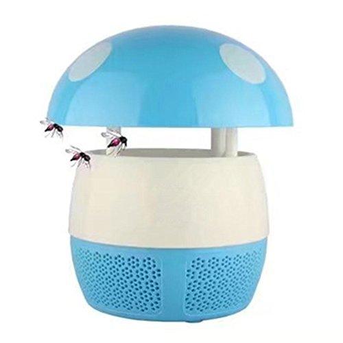 LY YL Pas De Lampe Anti-Moustique Anti-Mousse Domestique À Rayonnement, Blue,Blue