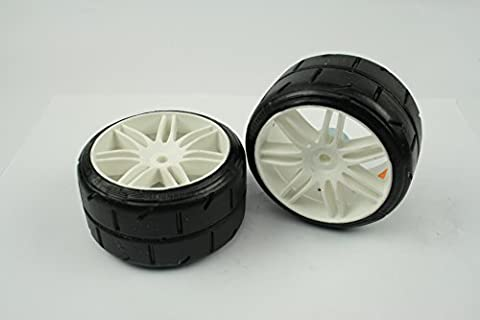 FG 4WD 510 OnRoad Sportsline Wheels (2) Rims + Tyres Rear FT7®