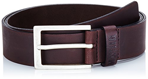 MUSTANG Herren Gürtel Basic Belt, Gr. 100 cm, Braun (dark brown 359)