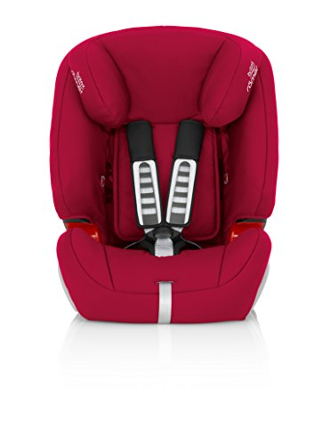 Britax Römer EVOLVA 123 Combination Car Seat, Group 1/2/3 (9 – 36 kg), Collection 2017, Flame Red
