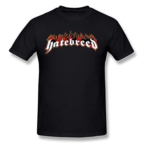 Desolate Men's Hatebreed Band Logo T-Shirt Black