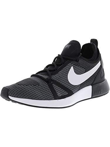 NIKE Men's Duel Racer Black/White-Dark Grey Low Top Running Shoe - 11M