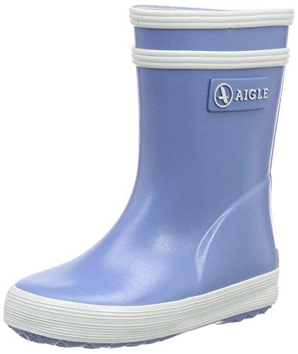 Aigle Baby Flac Gummistiefel, Unisex-Kinder Halbschaft Gummistiefel, Blau (bleu ciel C), 23 EU