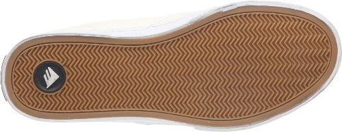 Emerica REYNOLDS CRUISER FUSION 6102000063, Chaussures de skateboard mixte adulte Blanc/blanc