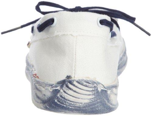 Dude Shoes Women's Moka Classic White/Navy white