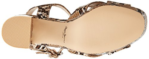 Pepe Jeans - Grace Animal, Sandali Donna Beige (Beige (816 Natural))