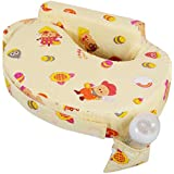 Baby Grow Cotton Fabric Feeding/Nursing Pillow Baby Mother Feeding Pillow Newborn Portable Pillow Perfect Gift For Baby Shower (Cream Bee)