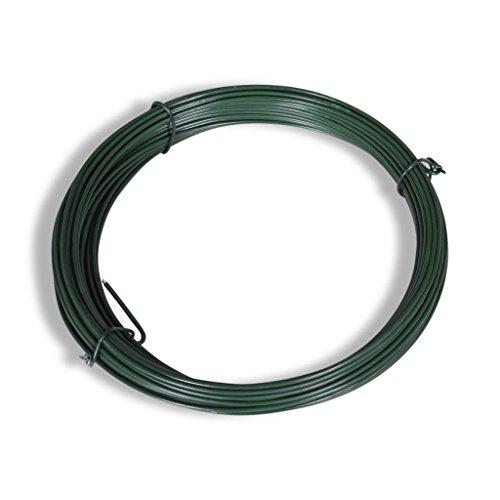 Fil de tension acier galvanisé et enduit PVC 25m