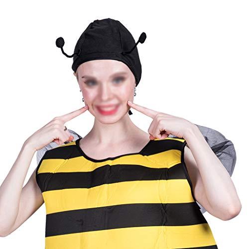 Lustiges Unisex Adult Bumble Bee Kostüm Halloween Kostüm Halloween Insekt Kostüm Halloween Kostüm