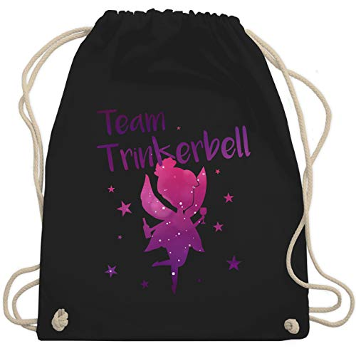 bschied - Team Trinkerbell - Unisize - Schwarz - WM110 - Turnbeutel & Gym Bag ()
