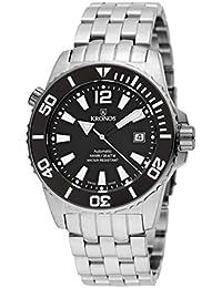 KRONOS - K300 Automatic Ceramic Black&White 736N.8.55W - Reloj Diver de Caballero automático