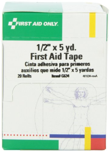 """First Aid Only 1/2"""" X 5 Yd. First Aid Tape Roll, 20-Count Boxes preisvergleich"""