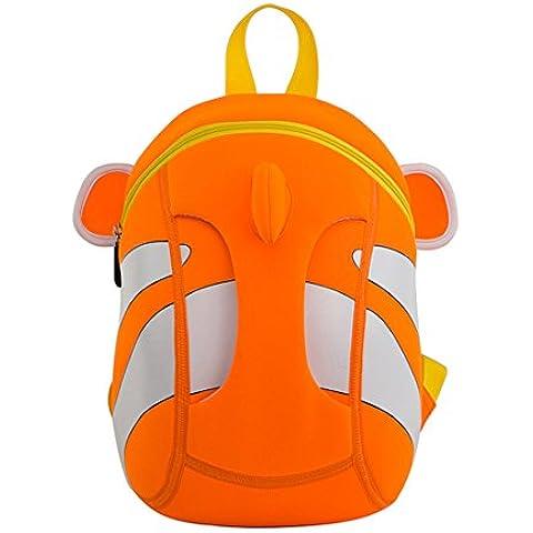 Nohoo 3D Clownfish Mochila Infantil