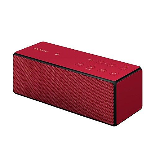 Sony SRS-X3 - Altavoz portátil de 20 W (NFC, Bluetooth, 3.5 mm), rojo