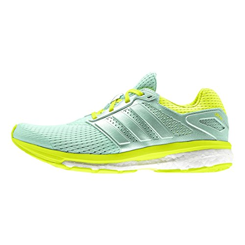 Adidas Supernova Glide-Boost-Lauf Turnschuh (5 D (m) Us, Core-Schwarz) Green/Yellow