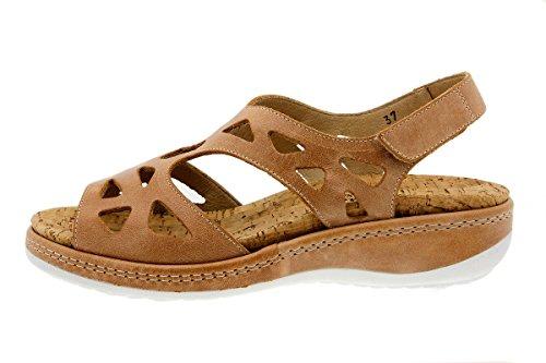 Scarpe donna comfort pelle PieSanto 1905 Sandali Plantare Estraibile larghezza speciale Cuero