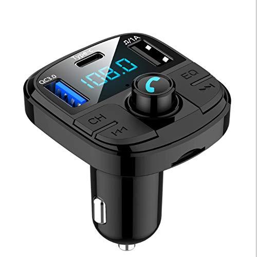 Lebron ray Auto MP3-Player Bluetooth FM-Empfänger Dual USBQC3.0 Aufladen Von Freisprechanrufen Mit LED-Anzeige Unterstützung TF-Karte Und USB-Flash-Laufwerk (Kindle-flash-laufwerk)