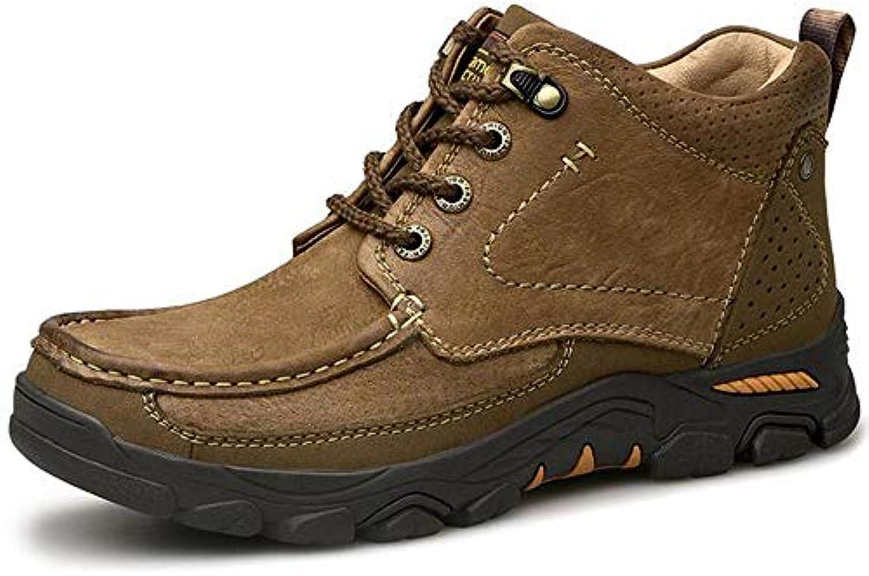 HWG-GAOYZ Stivali Scarpe da Uomo Stivali Martin Stivali Invernali da da da Trekking Caldi in Pelle Invernale. Scarpe... | New Style  c513e6