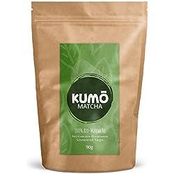 Bio-Matcha-Tee (90g) für klassischen Matcha Tee, Cooking, Smoothies | 90g hochwertigstes Bio Matcha Tee Pulver | 100% Bio - aus nachhaltigem Anbau