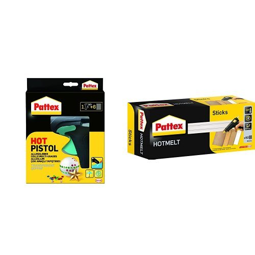 Pattex Hot Pistol Starter-Set + Pattex Hot Sticks (PTK1)