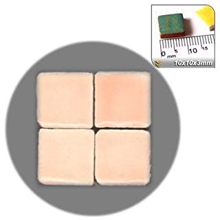 ALEA Mosaic Mosaic-Minis (10x10x3mm), 250 pieces, Light pink, WR04