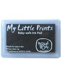 Tampons d'encre noire pour empreintes de Proudbody, sans danger pour bébé