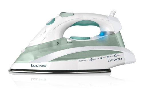 Taurus 2600 Plancha A Vapor ARTICA 2600W 100GR/MIN Suela INOX, W, 0.35 Liters, 260, Acero Inoxidable, Blanco y Gris