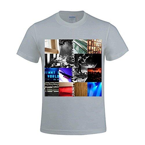 Gerlernt Jimmy Eat World Clarity Live T Shirt Men Funny O Neck