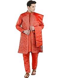 7b7144479 Amazon.co.uk  Orange - Nightwear   Men  Clothing