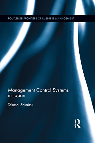 Management Control Systems in Japan (Routledge Frontiers of Business Management) (English Edition)