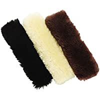 Caldene–Museruola in pelle di pecora 100% Autentico coperchio crema
