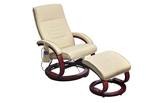 Preisvergleich Produktbild vidaXL Massagesessel Fernsehsessel mit Hocker Relaxsessel TV Sessel mit Heizung