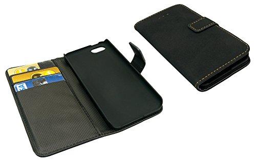 Sandberg Flip wallet für iPhone 5C–Magnet Schwarz