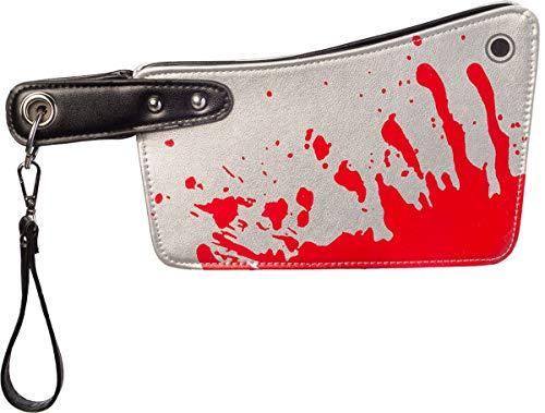 Orlob Fasching Damen Handtasche Blutiges Beil Halloween Kostüm-Zubehör Karneval schaurig Accessoires