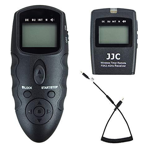 Fernauslöser Zeitraffer Intervalometer Fernbedienung passend für Fujifilm Fuji X-T3 X-T2 X-T1 X-T20 X-T10 X-T100 X-E3 X-E2S X-E2 X-E1 X-A5 X-A10 X100F X100T X70 X30 XF10 GFX 50S GFX 50R X-H1 X-Pro2