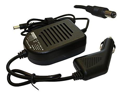 Toshiba Satellite 1800-A420 Chargeur Adaptateur CC pour voiture (allume