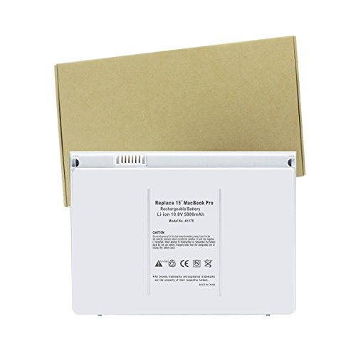 A1150 Pro Macbook Apple (LIDUO Ultra Hochleistung 5600mAh/60Wh 10.8V Li-Polymer Notebook Laptop Ersatz Batterie Akku für Apple A1175 A1211 A1226 A1260 A1150 MacBook Pro 15