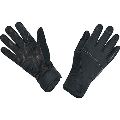 GORE BIKE WEAR ELEMENT URBAN WINDSTOPPER   GUANTES DE CICLISMO UNISEX  COLOR NEGRO  TALLA 9
