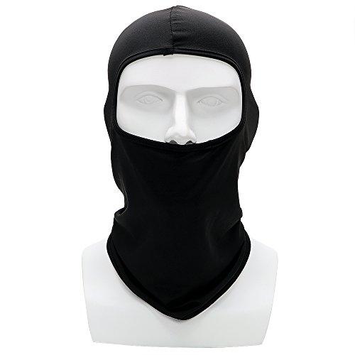 Kopfbedeckung dünne weiche atmungsaktive Maske für Moto Fahrrad Radfahren Winddicht Sonnenschutz Full face und Neck Motorrad Gesichtsmaske -