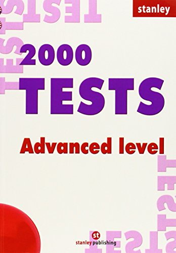 2000 Tests Adv + Key pack Ingles