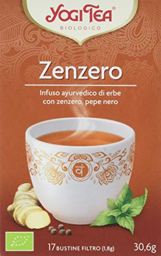 Yogi tea zenzero - 17 bustine filtro [30.6 gr]
