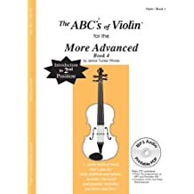 The ABC's of Violin for the More Advanced, Book 4 (Book & CD)