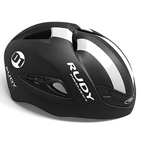 Rudy Project Boost 01 Helmet Black - White (Matte) Kopfumfang 54-58cm 2020 Fahrradhelm