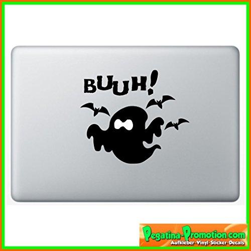 """Preisvergleich Produktbild """"Gespenst Geist Fledermaus Apple"""" Aufkleber Sticker für Macbook Air 11 13, Macbook skin 13, 15, 17 Zoll inch Apple Notebook Aufkleber ohne Hintergrund Tattoo Vinyl PEGATINA Apple Mac"""