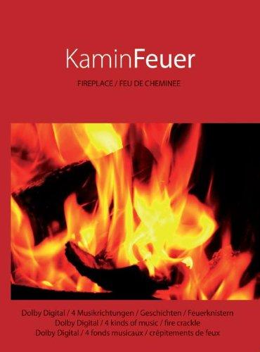 Kaminfeuer DVD Kamin Feuer DVD mit 6x Musik GEMA-frei -