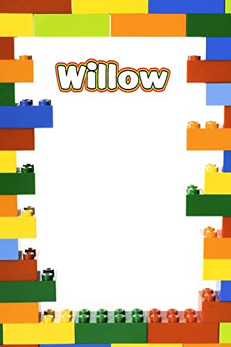 Willow: Building Brick Blank Comic Book Notebook Journal book 120 pages 6