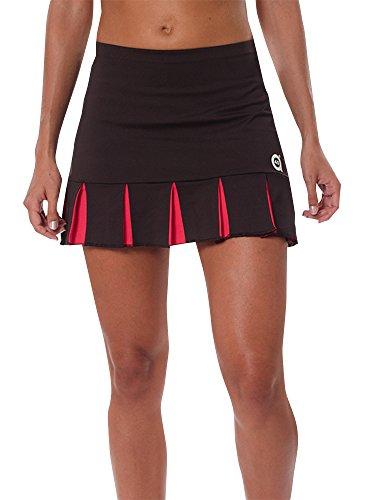 a40grados Sport & Style Feliz - Falda para mujer, color marrón, talla