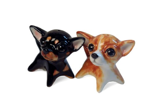 Coppia-Spargisale-e-Spargipepe-Chihuahua-Realizzata-a-mano-5cm-x-5cm